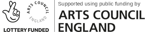 The logo of the Arts Council England. This website was made possible through funding by the organisation.