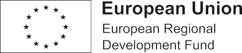 The logo of the European Union Development Fund. This website was made possible through funding by the organisation.