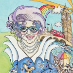 'Dame Edna Everage' by Eloise O'Hare.