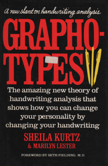 The cover of 'Graphotypes' by Sheila Kurtz and Marilyn Lester.