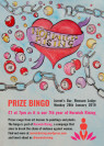 Poster for a Norwich Rising Bingo fundraising event.